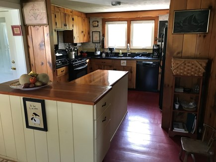 Nauset Heights (East Orleans) Cape Cod vacation rental - Cook's kitchen: quartz counters, deep sink, ample prep space.