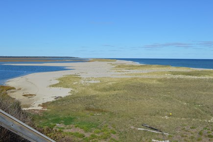 Nauset Heights (East Orleans) Cape Cod vacation rental - Nauset panorama. Ocean (r.) or sheltered coves (l.) 5-10min walk.