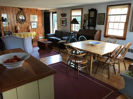 Nauset Heights (East Orleans) Cape Cod vacation rental - Multipurpose space: hang out, cook, eat. Front door + 6 windows.