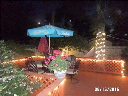 Dennisport Cape Cod vacation rental - Step out through sliders to the large deck