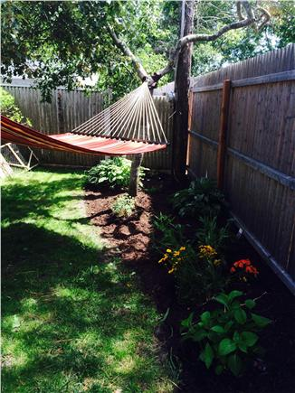 Dennisport Cape Cod vacation rental - Small, private, fenced in backyard