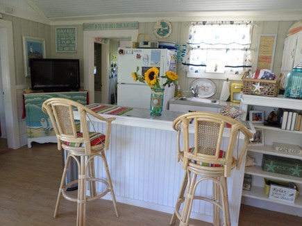 Dennisport Cape Cod vacation rental - Kitchen with breakfast bar
