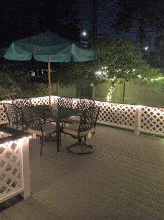 Dennisport Cape Cod vacation rental - Step out through sliders to the newly renovated large deck