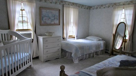 Barnstable, Cotuit Cape Cod vacation rental - Bedroom #2 - one full size day bed and one twin trundle & crib