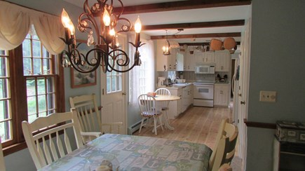 Barnstable, Cotuit Cape Cod vacation rental - Fully stocked kitchen with pantry and dining area