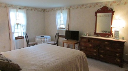 Barnstable, Cotuit Cape Cod vacation rental - Master bedroom with peek views of Pinquickset Cove