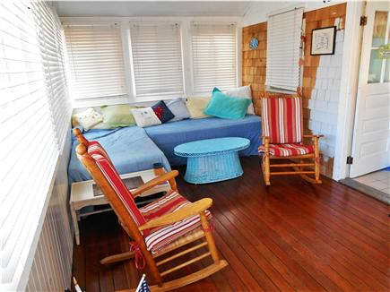Dennis Cape Cod vacation rental - Sleeping Porch with two twin beds