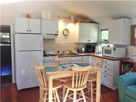 Wellfleet Cape Cod vacation rental - Sunny kitchen with dining table