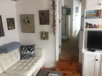 Provincetown Cape Cod vacation rental - Living room with view into bedroom