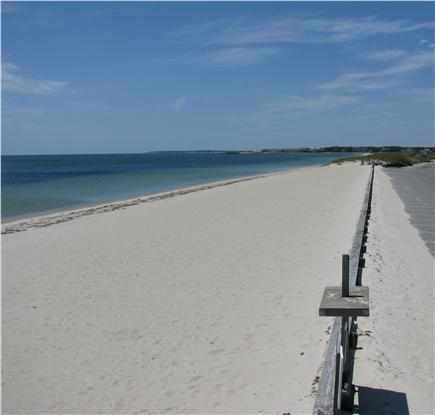 West Dennis Cape Cod vacation rental - West Dennis Beach - a mile of beautiful beach on Nantucket Sound