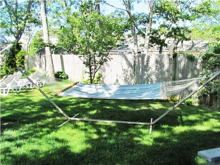 West Dennis Cape Cod vacation rental - Relax in the hammock!