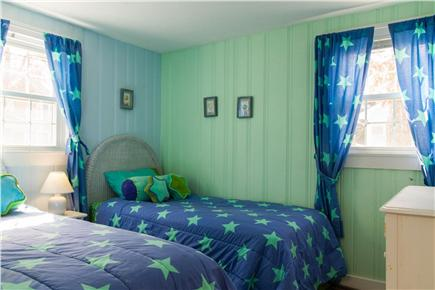 Popponesset Beach in Mashpee,  Cape Cod vacation rental - Bedroom with twin beds