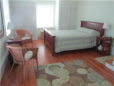 Woods Hole Woods Hole vacation rental - Second floor master bedroom in rear of house