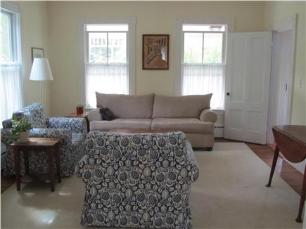 Woods Hole Woods Hole vacation rental - Living room (with queen sofa bed for two)