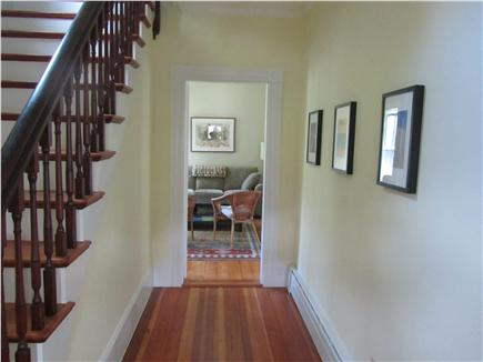 Woods Hole Woods Hole vacation rental - 1st floor hallway looking toward den/bedroom with sofa bed for 2