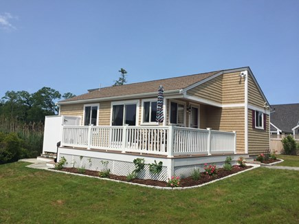 Orleans Cape Cod vacation rental - A look from yard at house