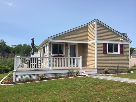 Orleans Cape Cod vacation rental - Side / Entry into House