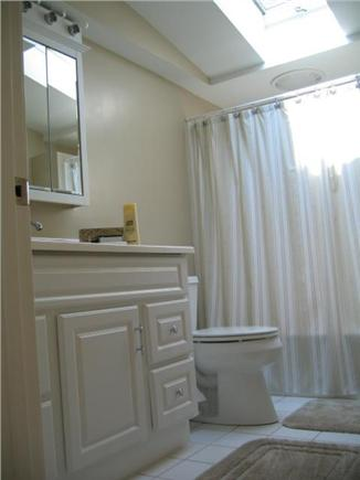 Eastham Cape Cod vacation rental - Second floor bath with skylight