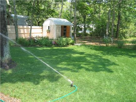 Eastham Cape Cod vacation rental - Nicely landscaped quiet and comfortable back yard