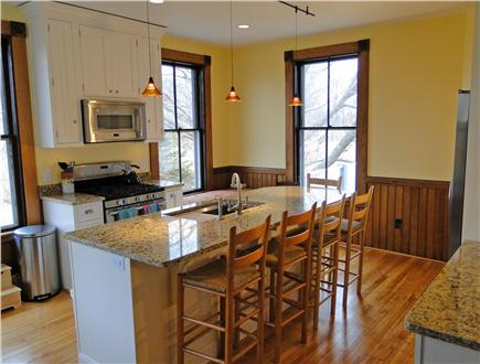 East Dennis Cape Cod vacation rental - Brand new kitchen with granite countertops, appliances