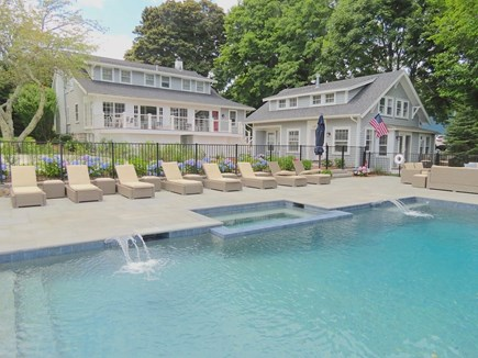 Orleans Cape Cod vacation rental - Resort style reunion property accommodates up to 24 in style.