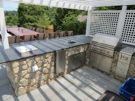 Orleans Cape Cod vacation rental - Superb, fully equipped outdoor kitchen.