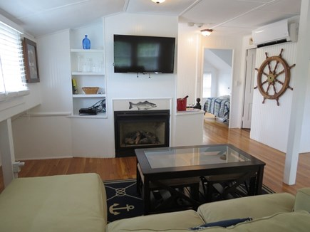 Orleans Cape Cod vacation rental - One, but not the only lounge seating area with flat screen TV