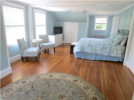 Orleans Cape Cod vacation rental - Roomy upper level MBR has a king size bed & private bath