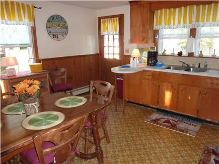 Dennisport Cape Cod vacation rental - Large eat-in Kitchen