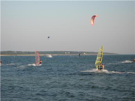 Hyannis Cape Cod vacation rental - Also kite surfing for the daredevils .. nice to watch