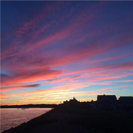 Hyannis Cape Cod vacation rental - Incredible sunsets!