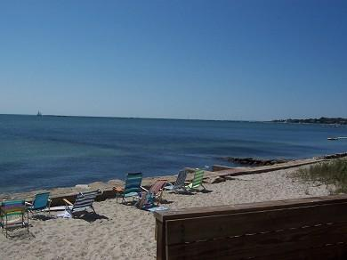 Hyannis Cape Cod vacation rental - Private beach .. lovely and the water is warm!