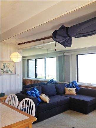 Hyannis Cape Cod vacation rental - layout of the main floor/living area and kitchen area