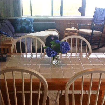 Hyannis Cape Cod vacation rental - Dining area... water on all sides.