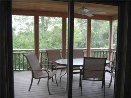 Wellfleet Cape Cod vacation rental - Screened porch - pleasant for dining and relaxing
