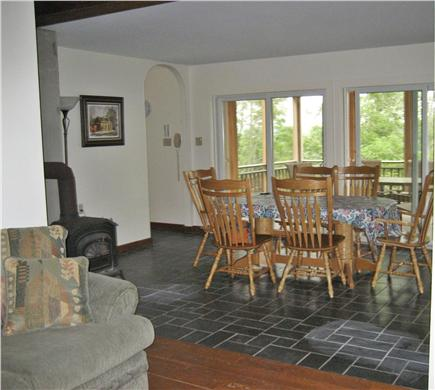 Wellfleet Cape Cod vacation rental - Dining room - opens onto screened porch