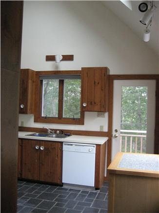 Wellfleet Cape Cod vacation rental - Kitchen with cathedral ceiling -  open and airy