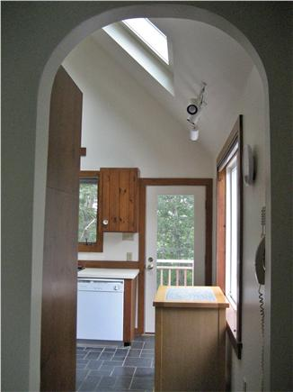 Wellfleet Cape Cod vacation rental - Kitchen  - large windows, feels like you are outdoors