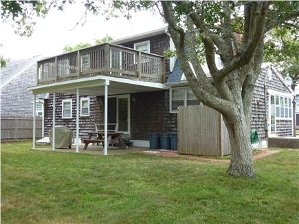Yarmouth, Bass River Cape Cod vacation rental - Enjoy the back yard with grill and picnic table