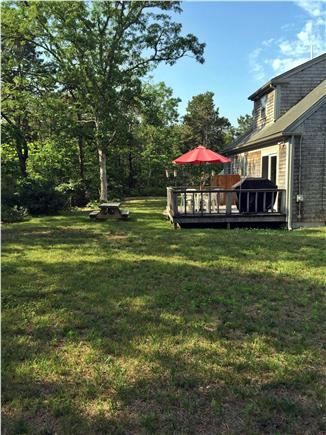 South Chatham Cape Cod vacation rental - Backyard