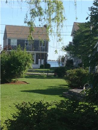 Barnstable Village Cape Cod vacation rental - View to ocean from kitchen and patio