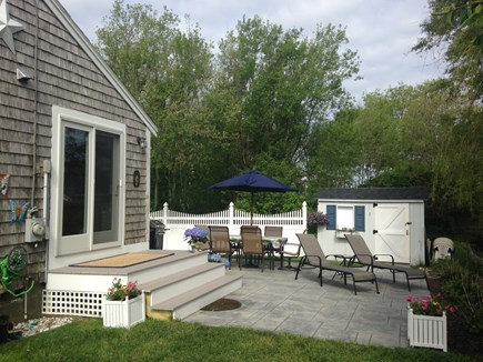 Barnstable Village Cape Cod vacation rental - Patio