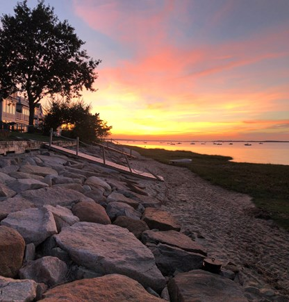 Barnstable Village Cape Cod vacation rental - Sunset on Bay View Beach