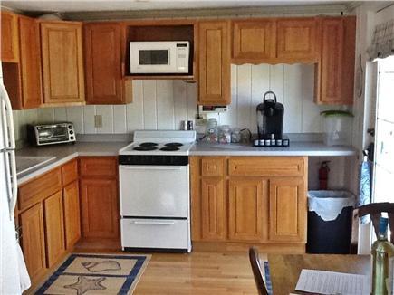 Barnstable Village Cape Cod vacation rental - Kitchen with Door to patio