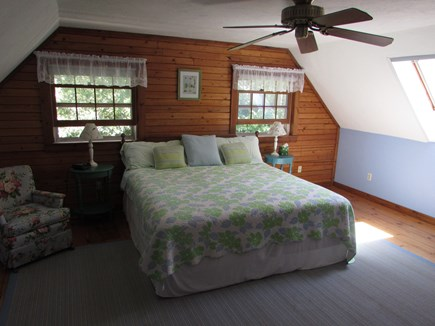 North Falmouth Cape Cod vacation rental - Spacious master bedroom (king bed)