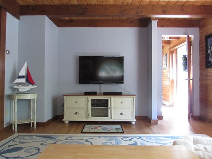 North Falmouth Cape Cod vacation rental - Family room (with TV)