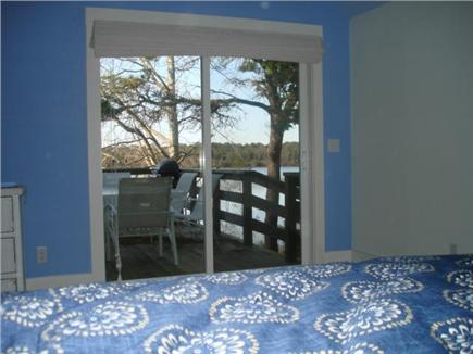 Eastham Cape Cod vacation rental - Main bedroom looks out to deck too