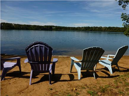 Eastham Cape Cod vacation rental - This is the beach and pond  in the back yard