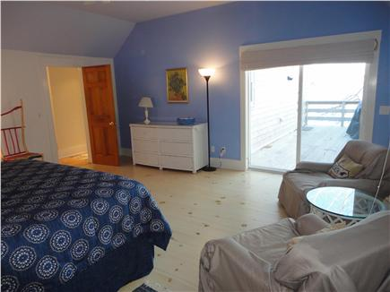 Eastham Cape Cod vacation rental - Main bedroom in entry level water views & private bath
