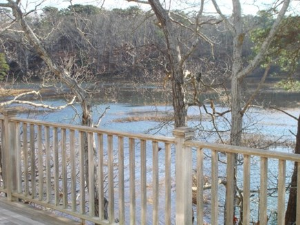 Wellfleet Cape Cod vacation rental - High tide view from deck and many rooms inside too.